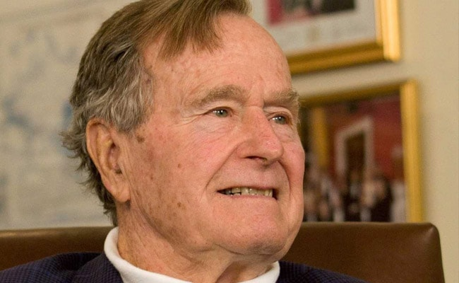 President George HW Bush has been released from hospital