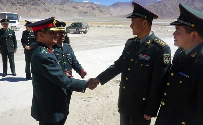 india china military meet