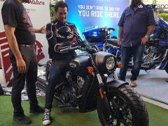 Actor Rohit Roy Trades His Honda Rune For The Indian Scout Bobber