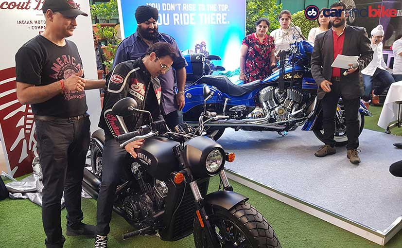 indian scout bobber rohit roy