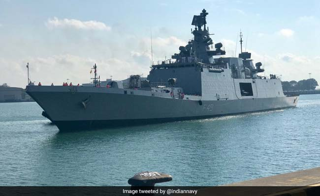 3 Indian Ships Set Sail For MALABAR Exercise With US, Japanese Navies