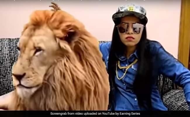 IPL 2018: MS Dhoni की फैन हुईं ढिंचैक पूजा, शेर के साथ बैठकर आया गाना