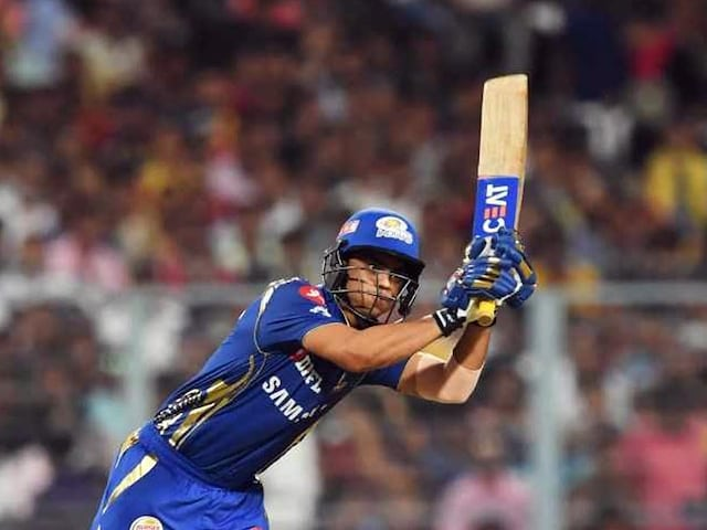 IPL 2018: Ishan Kishan Does An MS Dhoni, Hits Six With A Helicopter Shot