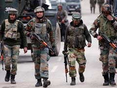 Around 450 Terrorists Operating In Jammu And Kashmir: Army