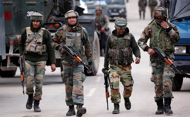 Case Filed Against Army Soldiers For Thrashing Jammu And Kashmir Official
