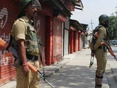 Separatist Killed In Jammu And Kashmir's Anantnag: Police