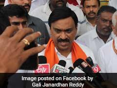 कर्नाटक कांग्रेस ने जनार्दन रेड्डी पर लगाया विधायकों को प्रलोभन देने का आरोप