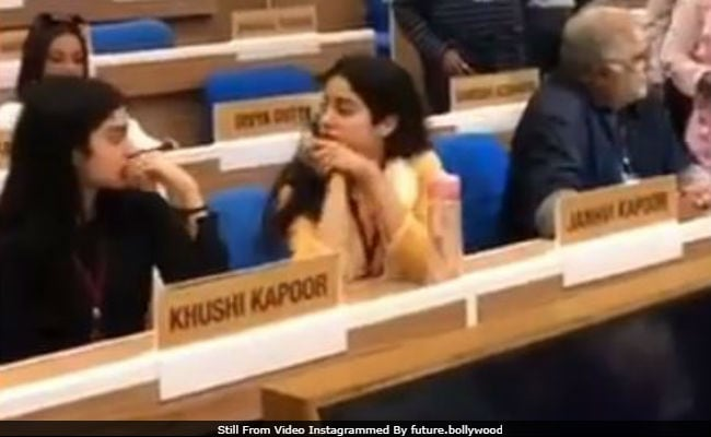 National Film Awards 2018: Janhvi, Khushi And Boney Kapoor At Rehearsal Ahead Of Ceremony