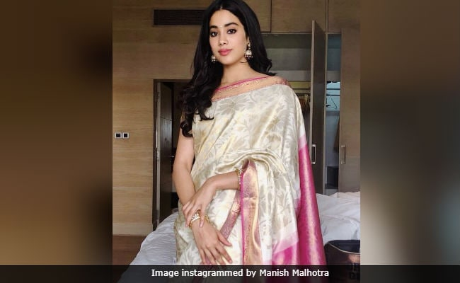 National Film Awards 2018: Janhvi Kapoor Wore Sridevi's Saree For 'Emotional And Precious Moment'