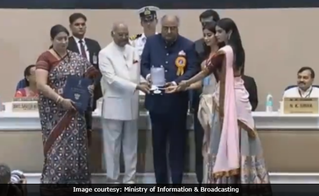 National Film Awards 2018 Highlights: Sridevi And Vinod Khanna's Families Collect Their Awards
