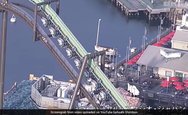 Universal Studios Japan roller coaster stalls, leaving riders stranded for 2 hours