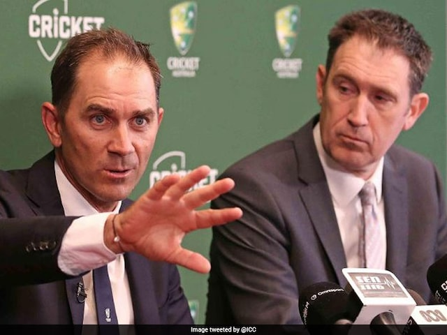 Beating India In India Will Judge Australias Greatness, Says New Coach Justin Langer