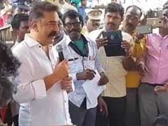 """Kamal Haasan Visits Adopted Village, Draws Up List Of """"What People Want"""""""