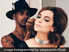 Kangana Ranaut Nails Her First Look At Cannes In A Black <i>Saree</i>