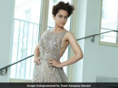 Cannes 2018: Kangana Ranaut Makes A Case For Sequins On Red Carpet. See Stunning Pics