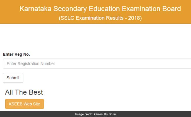 karnataka sslc result 2018 declared