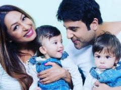 First Pic Of Kashmera Shah And Krushna Abhishek's Twins