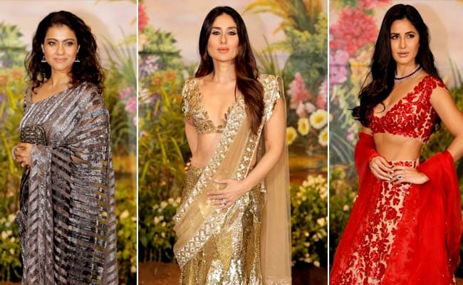 From Kareena Kapoor To Kajol, Celebs Who Wore Manish Malhotra At Sonam Kapoor's Reception