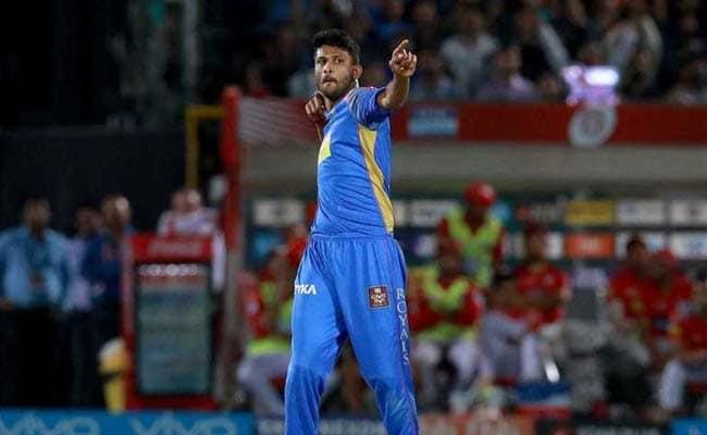 IPL 2018: कृष्णप्पा गौतम ने खास अंदाज में मनाया आर. अश्विन को आउट करने का जश्न, देखें VIDEO