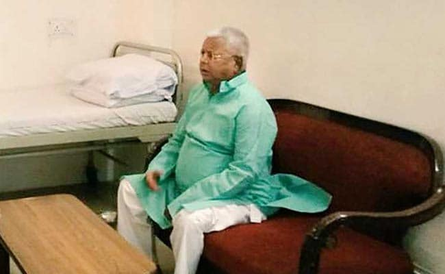 Lalu Prasad Yadav Shifted From Hospital Chief's Bungalow Amid Phone Call  Controversy