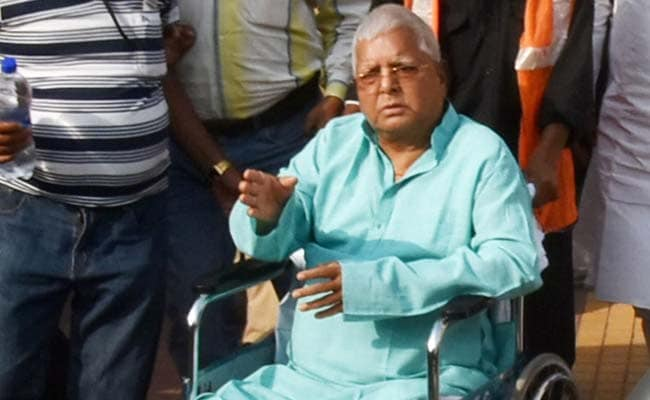 Police Team Visits Lalu Yadav In Hospital. Close Aide Alleges Harassment