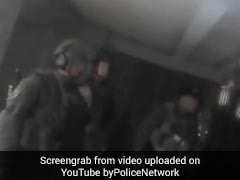 Body-Cam Video Captures Tense Moments As Cops Storm Vegas Gunman's Suite