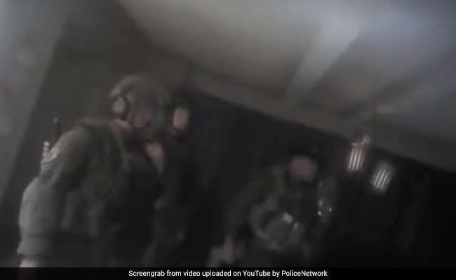 Body-Cam Video Captures Tense Moments As Cops Storm Vegas Gunman's Suite