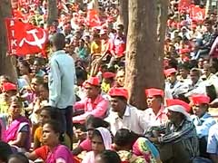 Adivasi Farmers Protest Over Land Acquisition For Bullet Train Project