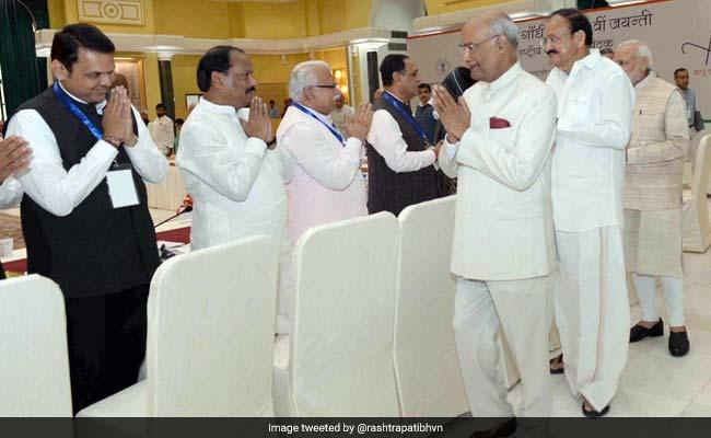महात्मा गांधी की 150वीं जयंती को लेकर आयोजित बैठक में नहीं पहुंचे सोनिया, राहुल और CJI