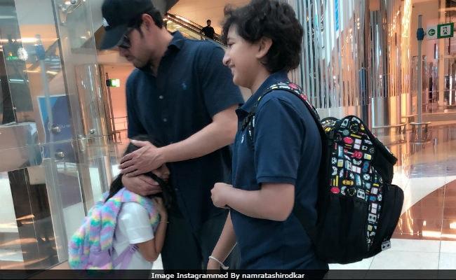 Post Bharat Ane Nenu's Success, Mahesh Babu Flies To Paris For Family Vacation