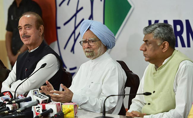 PM Modi 'Has Stooped Low', Misused Office Of Prime Minister: Manmohan Singh