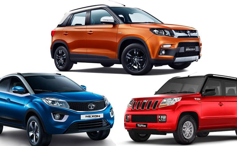 Maruti Suzuki Vitara Brezza Amt Vs Rivals Price Comparison Ndtv