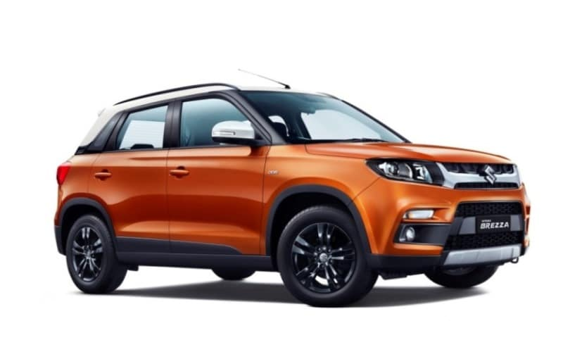 Prices for the Maruti Suzuki Vitara Brezza AMT go all the way up to Rs. 10.49 lakh