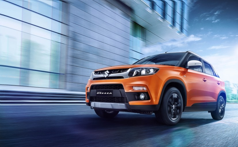 The Maruti Suzuki Vitara Brezza's average monthly sales accounts for 12,300 units