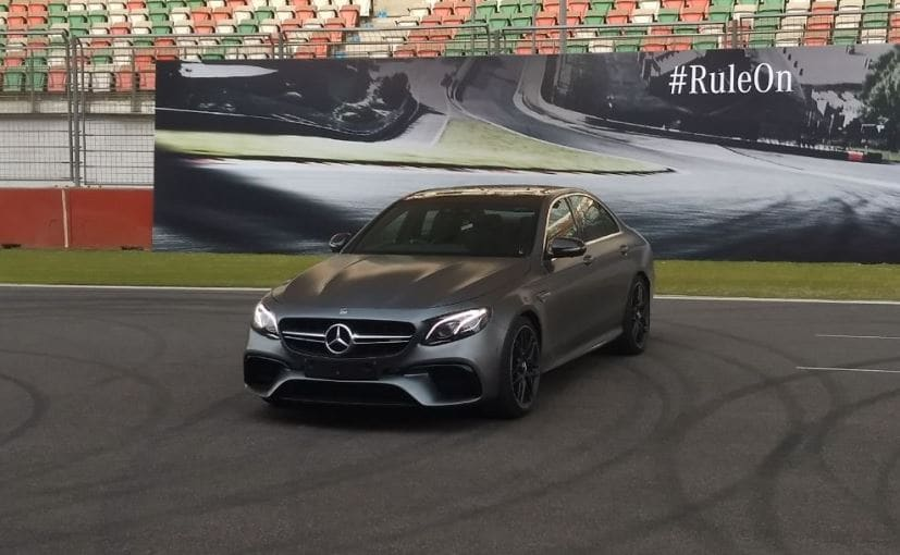 Mercedes AMG E63 S 4MATIC+ at BIC
