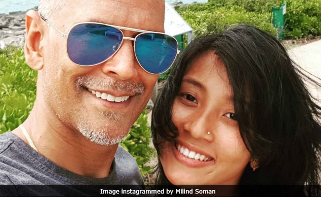 Catching Up With Milind Soman And Ankita Konwar In Hawaii
