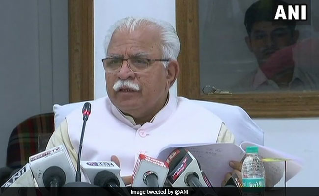 Namaz should be offered inside mosques rather than public spaces: Haryana CM