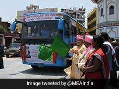 PM Modi, KP Oli Jointly Inaugurate Janakpur-Ayodhya Direct Bus Service