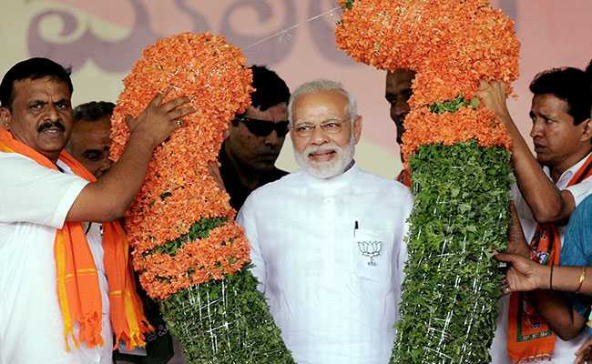 With Tulsi Plants, Supporters Seek Divine Help For PM Modi In Karnataka