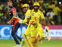 IPL 2018: MS Dhoni, Ambati Rayudu's Comical Run-Out Act Sparks Laugh Riot In CSK Camp