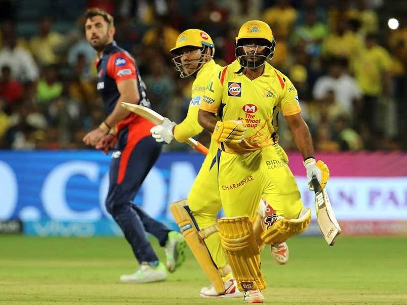 IPL 2018: MS Dhoni, Ambati Rayudu