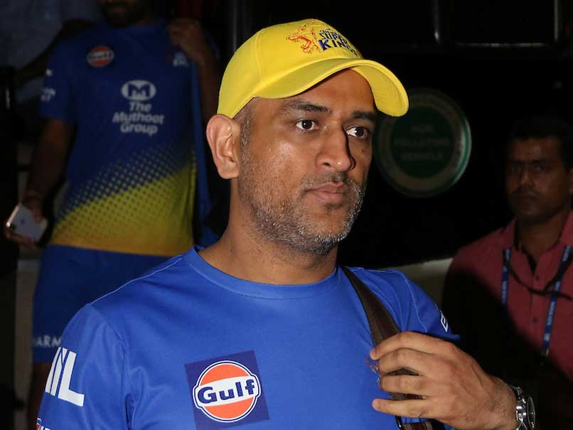 "Watch: MS Dhoni Gives His ""Friend"" A Tour Of Chennai Super Kings Dressing Room"