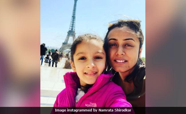 More Pics From Mahesh Babu And Namrata Shirodkar's Paris Vacation Album