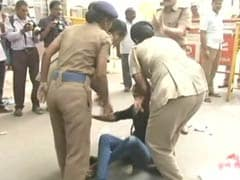 NEET: Students' Union Activists Protest Outside CBSE Office In Chennai