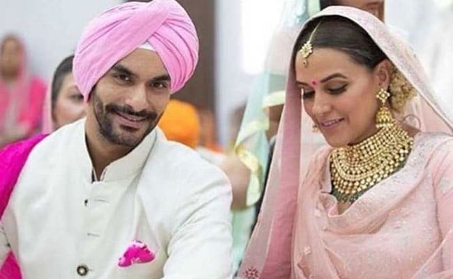 Neha Dhupia Wedding: नेहा ने 'टाइगर जिंदा है' के एक्टर Angad Bedi से रचाई शादी, सोशल मीडिया पर यूं आया तूफान