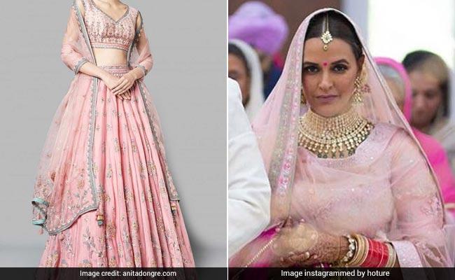 Neha Dhupia बनीं Mrs. Bedi, पहना इतना कीमती लहंगा