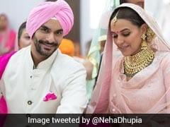 Neha Dhupia Marries Angad Bedi. See Wedding Pic