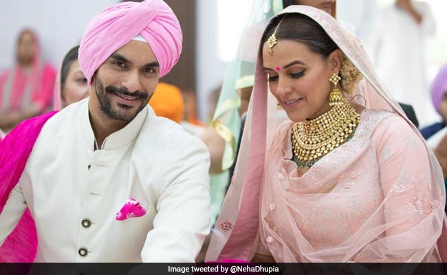 Neha Dhupia Marries Angad Bedi. See Wedding Pic