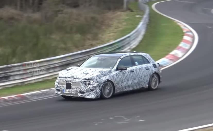 Image result for Next-Gen Mercedes-Benz GLA Caught Doing Test Laps At Nurburgring