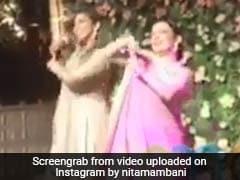 Watch: Isha Ambani Dances With Parents Mukesh And Nita At Star-Studded Engagement Party